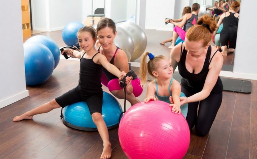 aerobik dla dzieci sposób na zainteresowanie malucha