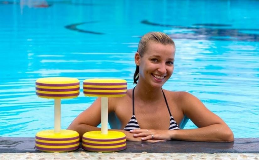 Aqua fitness. Świetny nawet, gdy nie umiesz pływać