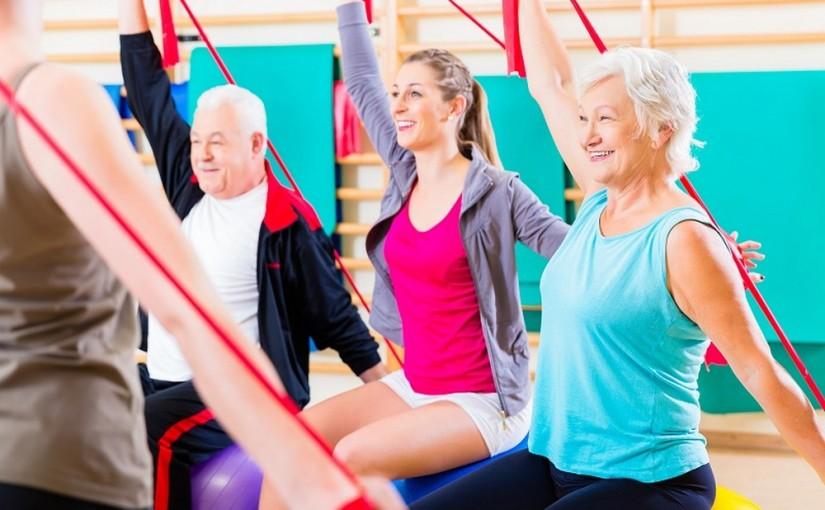 w zdrowym ciele zdrowy duch aktywny senior