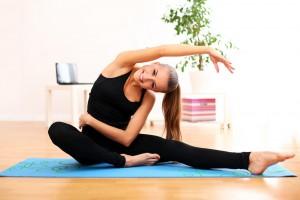 Pozycje w jodze – joga z Agnieszką Słupską