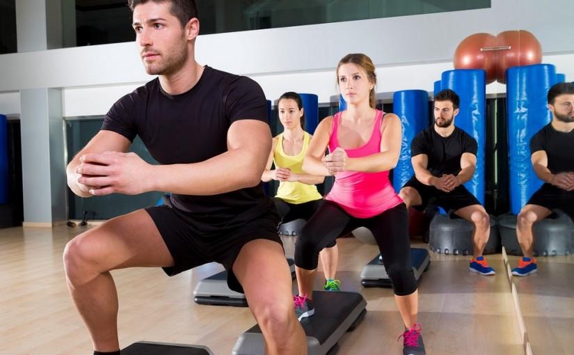 Step fitness. Piękne nogi dzięki intensywnym ćwiczeniom