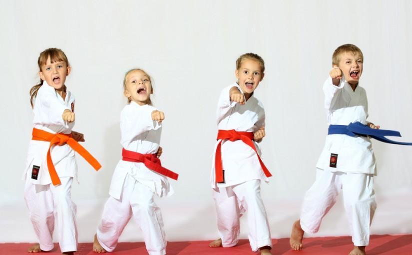 Dlaczego warto posyłać dzieci na karate?