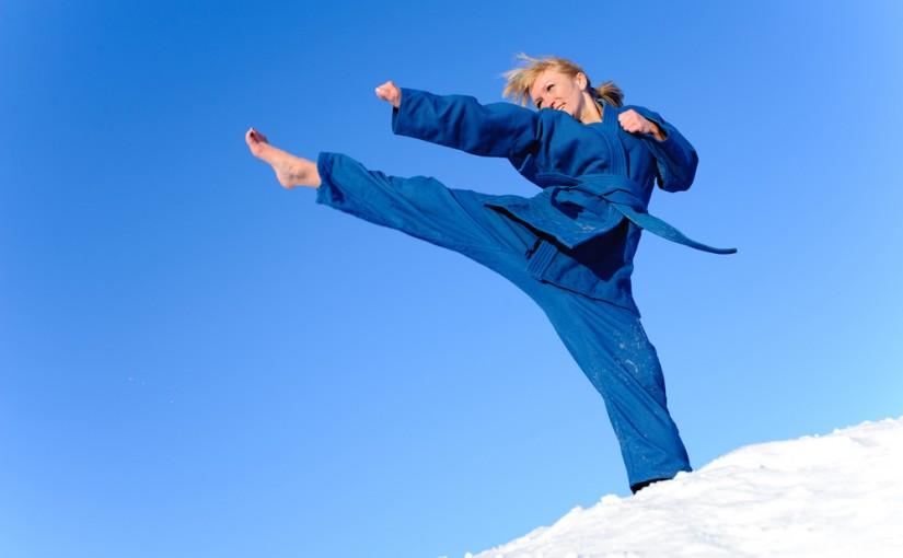 Karate w nietypowej odsłonie
