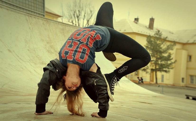 Hip-hop taniec z ulicy