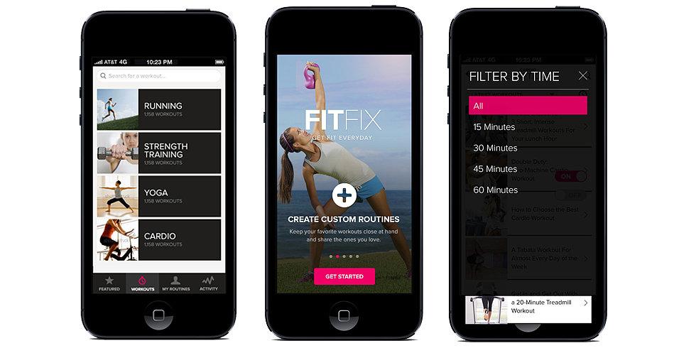 Aplikacja fitness FitFix