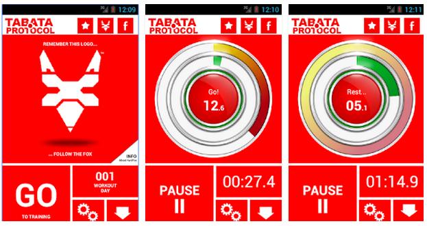 Aplikacja fitness Tabata HardFox