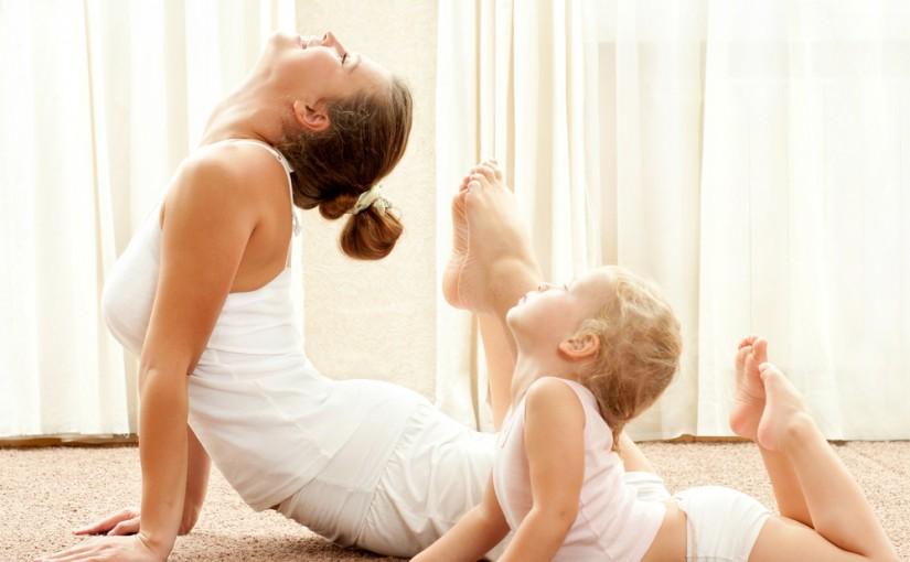 Aktywna mama – czyli Mamo, nie rezygnuj z gimnastyki