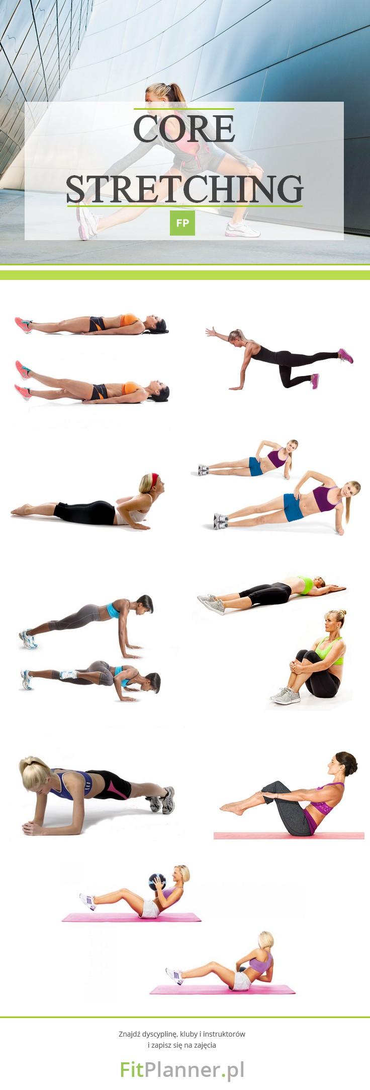 Core Stretching - ćwiczenia rozciągające na odchudzanie