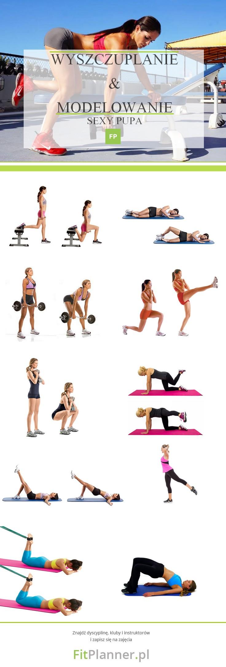 Ćwiczenia na brazylijskie pośladki