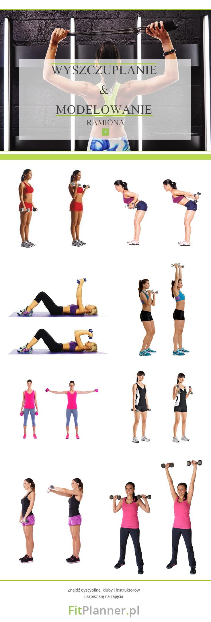 Ćwiczenia wyszczuplające i modelujące na ramiona