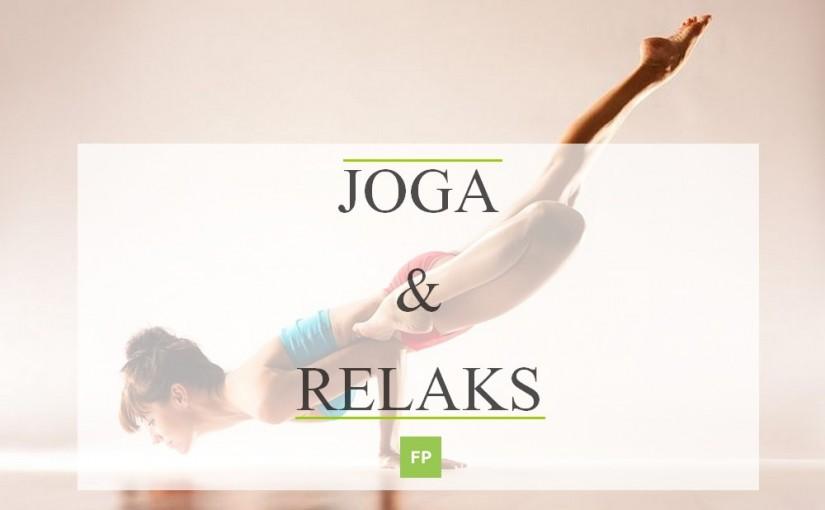 Pozycje jogi na relaks