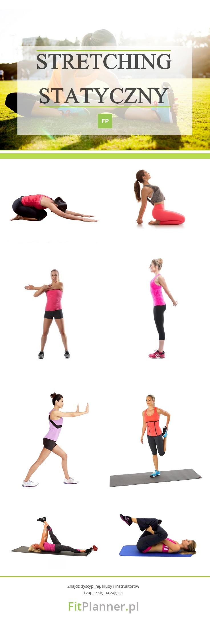 Stretching Statyczny - ćwiczenia rozciągające na odchudzanie