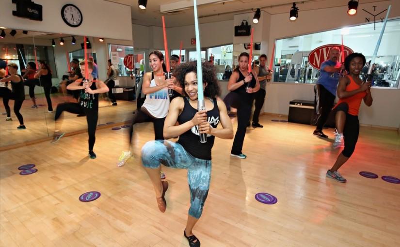 Zajęcia fitness w stylu Gwiezdnych Wojen
