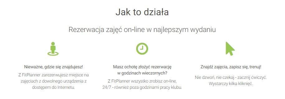 Zapisy online na zajęcia - FitPlanner.pl