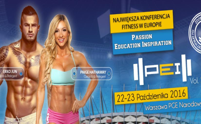 Konferencja PEI PGE Narodowy Warszawa październik 2016