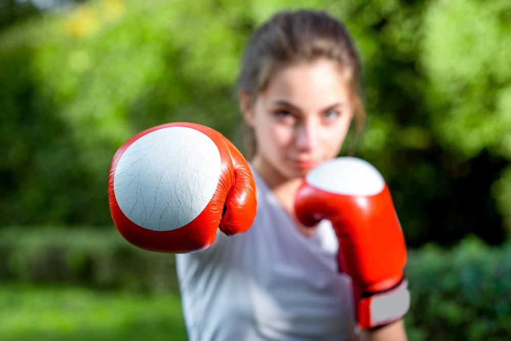 boks dla dzieci