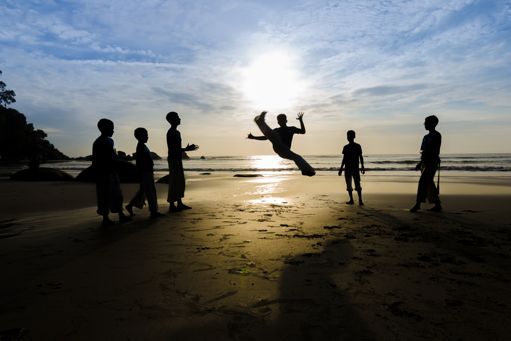 capoeira dla dzieci